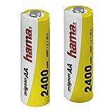 Hama Ready4Power - Batería/Pila recargable (Níquel metal hidruro, Universal, AA, Negro, Amarillo)