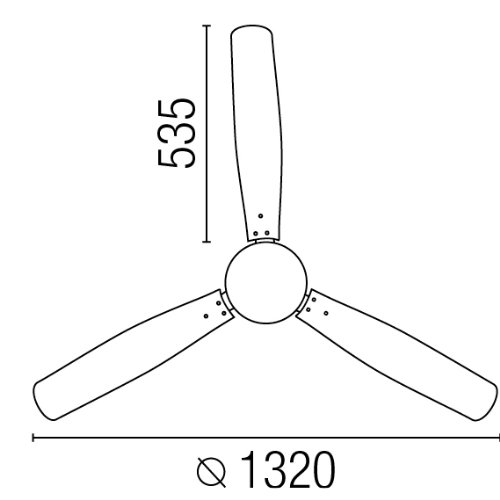 41km%2B9iqQ0L. SS500  - Projector Barcelona Tonsay 33384Ceiling Fan with Light, 15W Motor, Wings: Wood and Steel/White Opal Glass Maple Polycarbonate White