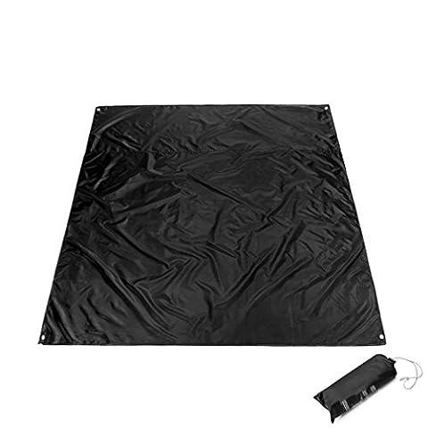 Gracelaza couverture de pique-nique grand format pliable et étanche avec