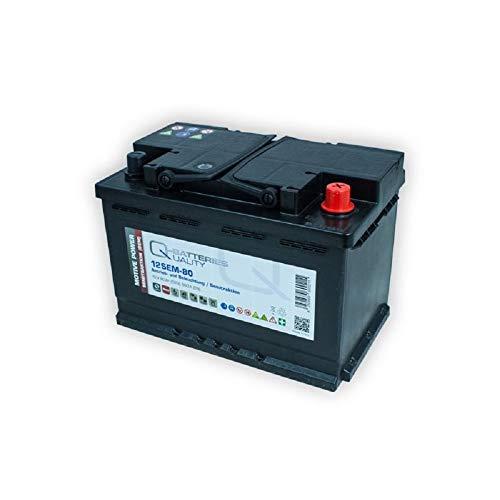 Versorgungsbatterie 12V 80Ah Antrieb Solar Wohnmobil Boot Mover Schiff AGM Gel Batterie kompatibel zu FF 12 060, 956 01, 956 02, LFD70 - Vorteil Rollstuhl