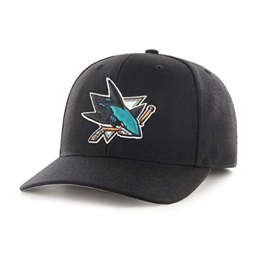 NHL San Jose Sharks Stecker OTS All-Star, dp verstellbar Hat, schwarz, one size