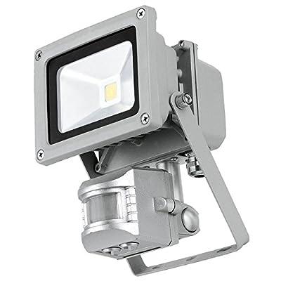 PowerSave 10w=100w LED Motion Sensor PIR Security Light ~ A Rated Energy Saving