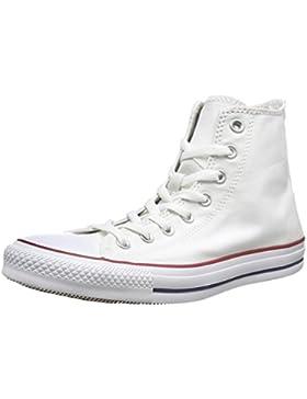 Converse AS HI CAN OPTIC. WHT M7650 - Botines de lona unisex, color blanco, talla 42.5