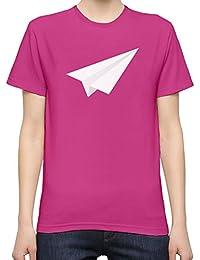 f6a0b50064cb Origami White Plane T-Shirt Femme