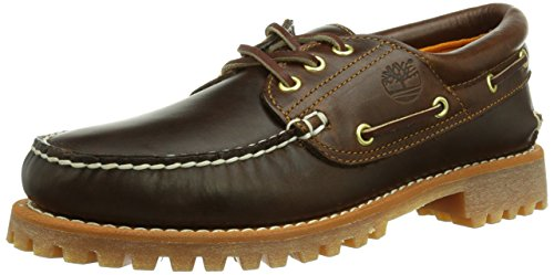 Timberland Authentics TFO Classic 3 Eye Lug Herren Mokassin Braun (Brown)