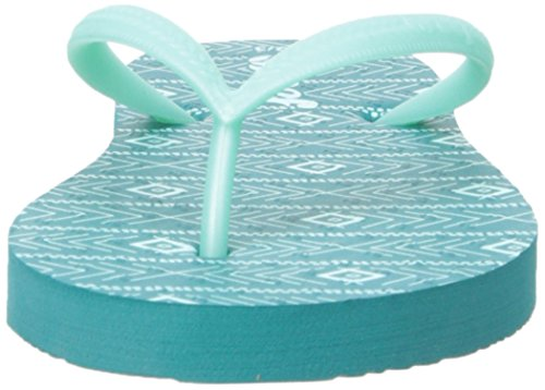 Reef Little Chakras Prints, Flip-flop fille Vert (Mint)