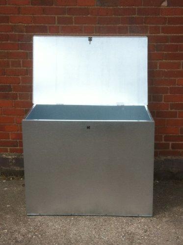 large-galvanized-feed-bin