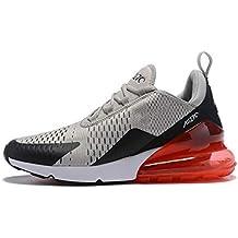 best website a34be 3a27a Air Max 270 Chaussures de Running Compétition Femme Homme Sneakers (39 EU,  Gris Rouge