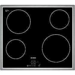 Bosch PKE645B17E Plaque de cuisson à vitrocéramique, Noir
