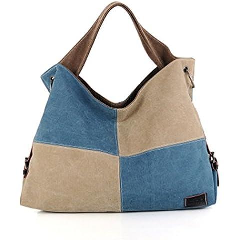 Swesy nuove donne di modo Borsa a tracolla Canvas Handbag