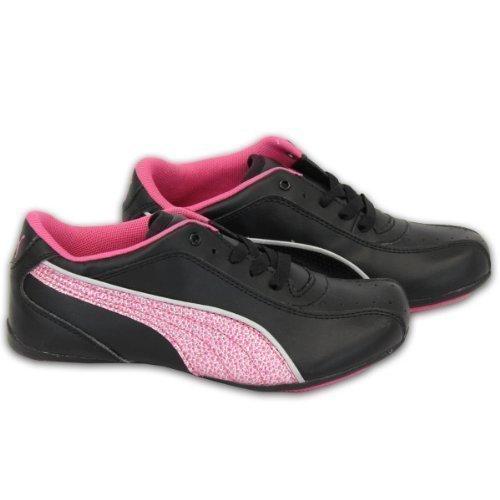 Puma - Mädchen Kinder Schnürsenkel Freizeit Fashion Turnschuhe 35301203 Schwarz
