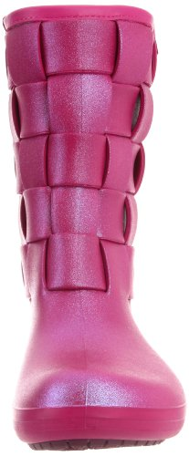 Crocs - - Frauen SuperMolded Iri Weave Boot-W Schuhe Berry/Berry