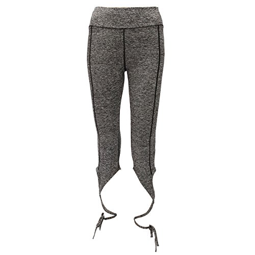 Fitness Leggings,CAMTOA Pantalon Pantacourt,Leggings de sport Pantacourt Femme Capri Jogging YOGA,Active Legging Jogging Gym Fitness Gris