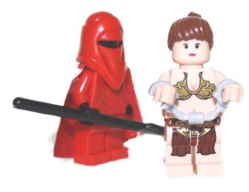 LEGO®Star Wars-Royal Guard con princesa Leia en Esposas
