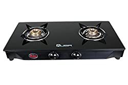 Quba B2 Toughened Glass 2 Burner Auto Ignition Gas Stove