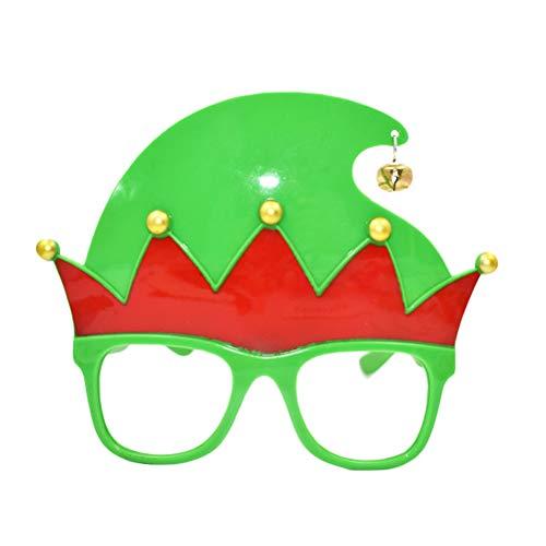 BESTOYARD Party Brillen Rahmen für Kinder und Erwachsene Weihnachten Elf Kostüm (Weihnachten Elf Erwachsenen Kostüme)