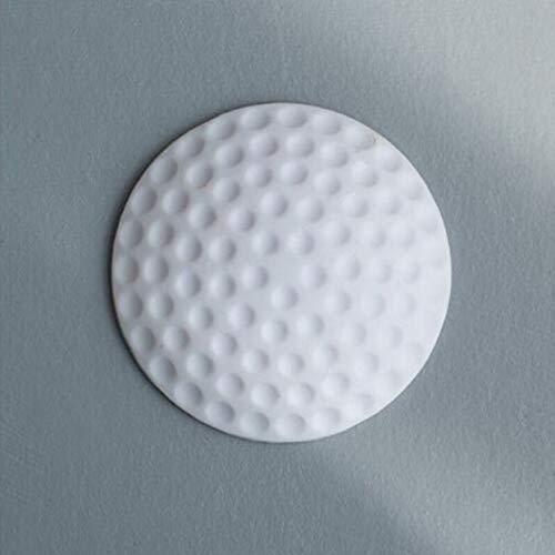 Wandverdickung Mute Türfender Golf Modellierung Silikon Fender Griff Türschloss Schutzpolster Schutzwand Stick - Weiß (Spaß Türklinke)