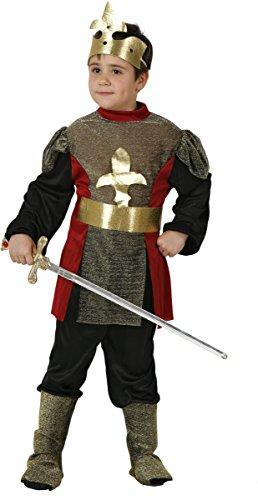 Mittelalterliches Ritterkostüm für Jungen 116/128 (5-6 Jahre)