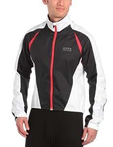 GORE BIKE WEAR Herren Jacke Contest 2.0 Active Shell, black/red/white, S, JWCONM993507