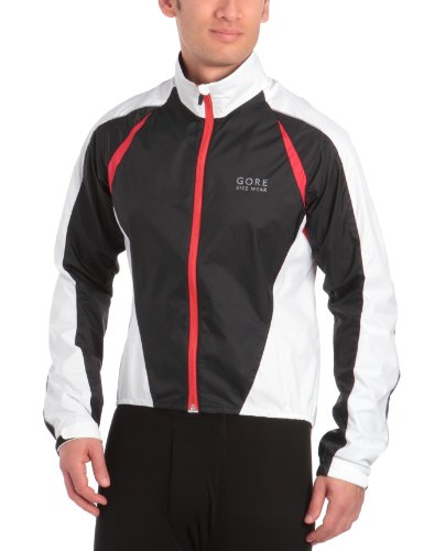 GORE BIKE WEAR Herren Jacke Contest 2.0 Active Shell Black/Red/White