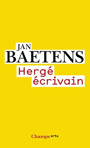 Livre gratuits en ligne Hergé écrivain pdf ebook