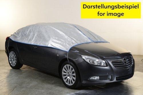Preisvergleich Produktbild Teilabdeckung Autoabdeckung Halbe Autoabdeckung Opel CASCADA in silber exclusiv aus Tyvek mit Lagerbeutel