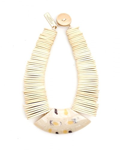max-mara-weekend-womens-gamma-white-wooden-necklace-n-s-white