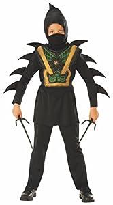 Rubies - Disfraz de ninja mortal para niño, infantil 3-4 años (Rubies 641144-S)