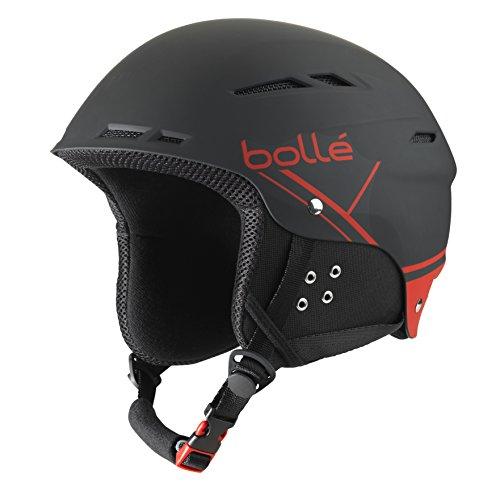 Bollé 31211 Cascos de Esquí, Unisex Adulto, Negro (Soft...