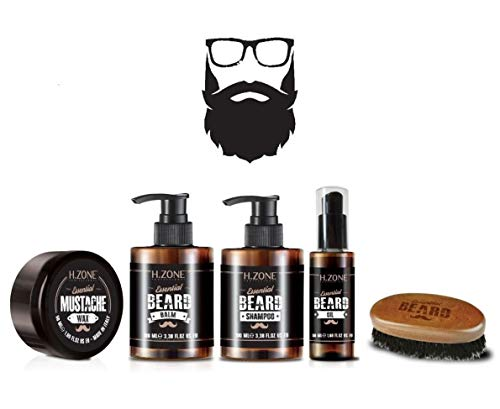 Bart und Schnurrbart kit - H-Zone Essential Beard - Renèe Blanche Zone-kit