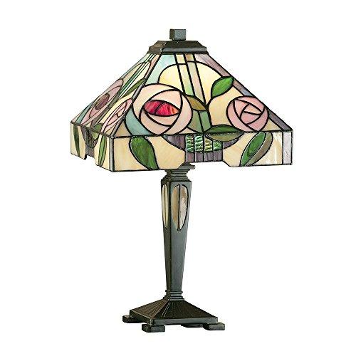 Willow Piccolo stile Tiffany Lampada da tavolo - Interni 1900 64386