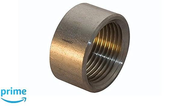 5 St/ück Werkstoff 1.4571 3//4 x 150 mm Badtke Edelstahl  Rohrdoppelnippel Sonderl/änge /ähnlich EN 10241//DIN 2982