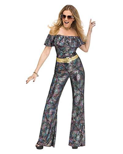 Horror-Shop Disco Queen Kostüm als sexy Hingucker für Mottoparty, Schlagermove & Fasching - Sexy Disco Kostüm