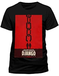 Django Unchained Poster Homme Noir T-Shirt - S