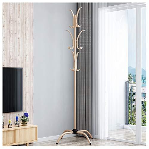 H.Q Einfache Montage Garderobe Boden Kleiderbügel Kreative Einfache Wohnzimmer Mantel Stehen Eisen Multifunktionale Kleidung Baum (Stehen Eisen-kleidung)