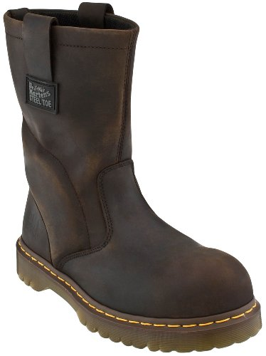 Dr. Martens Men's Icon Industrial Strength Steel Toe Boot Dr Martens Steel Toe Boots