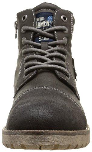 Tom Tailor 8585802, Bottes Classiques Homme Gris (Coal)