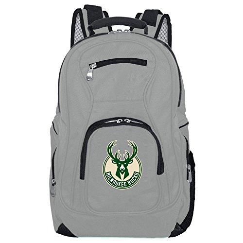 DENCO NBA Voyager Laptop-Rucksack, 19 Zoll, Grau, Unisex-Erwachsene, NBA Voyager Laptop Backpack, 19-inches, Gray, grau, 19 Voyager-notebook-rucksack