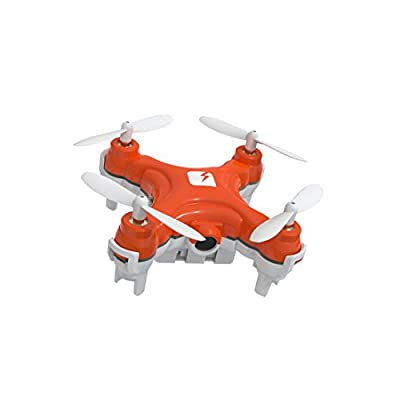 SKEYE Nano Drone with Camera - Front-Mounted Camera with Video Function - Get a Bird's Eye View of your Drone Flight - 6-Axis Stable Quadcopter - 3 Flying Levels - One Year Warranty