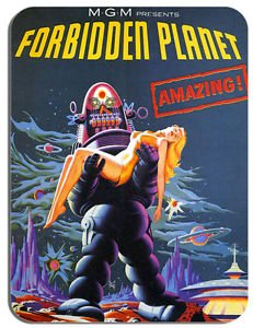 Forbidden Planet Tapis de souris Tapis de souris fantaisie Film Movie Poster