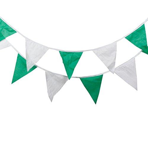 Mibuy Dreieck Flagge Geburtstag Hängende Dekoration Baumwolltuch Flagge Geeignet für Urlaub Halloween Kinderzimmer Wohnkultur Baby Party Feier Fotohintergrund (#5) (Fünf Bis Tage Noch Halloween)