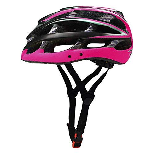 Fahrradausrüstung Rennrad Mountainbike Männer und Frauen Ausrüstung Helm Reithelm Rosa schwarz M