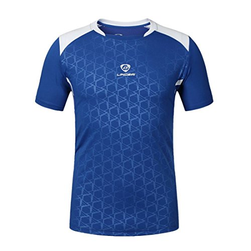Men's Fashion Stretchy Quick Dry Short Sleeve Tee Shirt JL