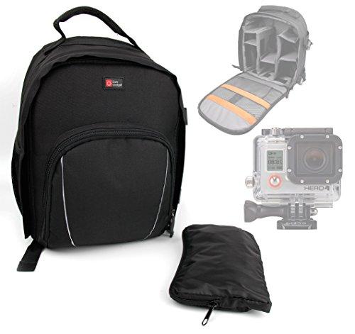 DURAGADGET Sac à dos noir pour la gamme de caméscope GoPro 4...
