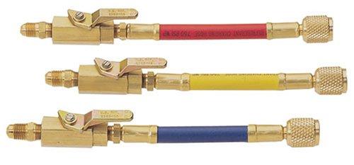 Mastercool 902623Stück manuell Absperr-Ventil Adapter Set