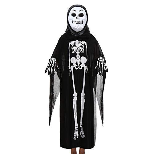 Kapuzen-Terror Reaper - Halloween-Kostüm - Kinder Kostüm Halloween -