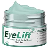 Bella Vita Organic EyeLift Under Eye Cream Gel for Dark Circles, Puffy Eyes