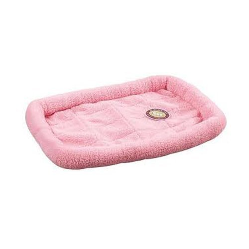 slumber-pet-sherpa-dog-crate-bed-small-baby-pink-by-petedge-dealer-services