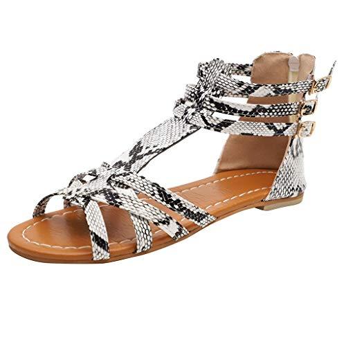 Luckycat Zapatos Planos Mujer Sandalias Mujer Verano