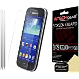 Techgear Clear LCD Screen Protector for Samsung Galaxy Ace 3 S7275 (Pack of 3)